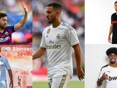 Campeonato Espanhol espera várias estreias. Montaje/EFE/AFP