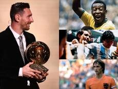 Pistas sobre o futuro de Messi; quando outras lendas se aposentaram? Montagem/EFE/AFP