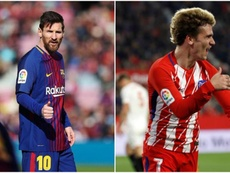 Messi quer Griezmann na sua equipa. BeSoccer
