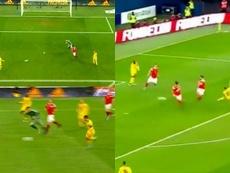 Hazard voit double. Capture/Cuatro
