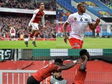 La première journée d'Europa League a été riche en buts. AFP