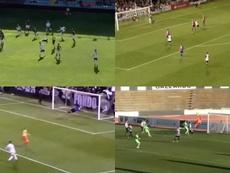Los cuatro mejores goles del curso en la Segunda B. Captura/RFEF