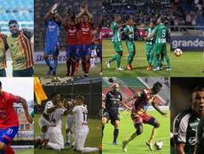Estos son los cuartos de final de la Copa Colombia 2019. Montaje/BeSoccer