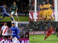 Partidos de octavos de final de la Copa Libertadores 2019. EFE
