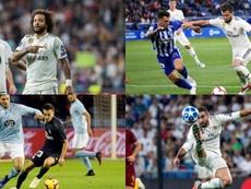 La défense du Real Madrid est à l'infirmerie. EFE