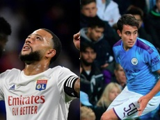 Barca still want Depay and García. AFP