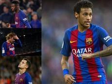 Neymar's departure has left an unfillable void. EFE/AFP
