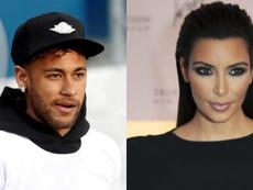 Montaje de Neymar y Kim Kardashian. EFE/BeSoccer
