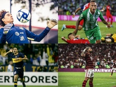 Los clubes latinoamericanos que nunca perdieron la categoría. Montaje/EFE