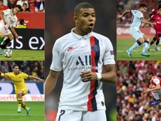 Cinco emprestados mais Mbappé estariam nos planos do Real Madrid. EFE-AFP