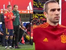 Dani Olmo y Pau López debutaron con la absoluta. Capturas/SeFútbol