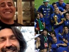 Cannavaro y Pirlo, ¡viejos y llorones! Captura/Instagram/EFE