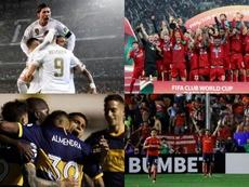 Los 10 clubes con más títulos internacionales. BeSoccer/EFE/AFP
