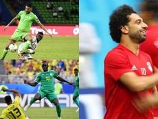 Les huit 'cracks 'appelés à briller lors de la CAN 2019. AFP