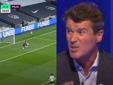 Keane slammed De Gea. Captura/DAZN/SkySports