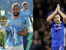 Cuando Agüero pudo llegar al Chelsea... ¿y Terry lo evitó? Montaje/AFP