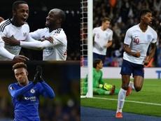 Los 7 talentos de Inglaterra para la próxima década. AFP