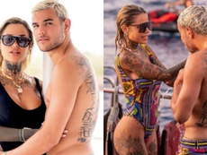 Zoe es modelo, DJ e influencer y comparte con Theo su pasión por los tatuajes. @zoe_cristofoli