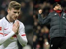 El Liverpool es el favorito para fichar a Werner. AFP