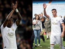 Vinicius y Reinier son dos de las perlas blancas. AFP/EFE
