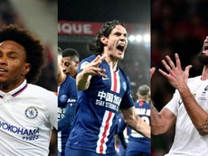 Willian, Cavani and Giroud will be three of the bargains of the summer. AFP