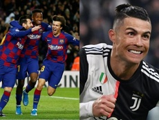 Barça e Cristiano dominam a China. EFE/AFP