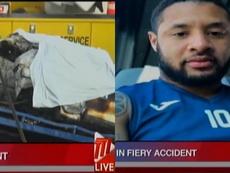 Winchester y tres personas más perdieron la vida en el fatal accidente. Capturas/TTTLive