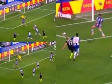 Coentrao tuvo la oportunidad del empate minutos antes de ser expulsado. Captura/LigaNOS