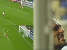 Roque no nos tiene acostumbrados a esto: ¡inexplicable error! Capturas/Libertadores
