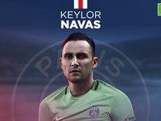 Keylor Navas, nuevo portero del PSG. BeSoccer
