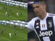 Ronaldo scored his 600th career goal against Inter. Capturas