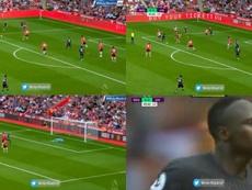 Pas de pitié pour Mané : sublime but face à son ex Southampton. Capture/@MnbrMadrid