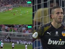 Kroos sblocca la semifinale. Captura/Movistar+