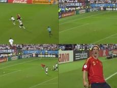 Montage du but de Torres avec la sélection espagnole. Captures/UEFA