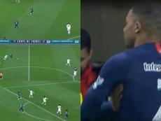¡La última obra de arte de Mbappé que le dio otra final al PSG! Capturas/beINSport