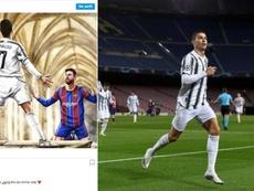 La hermana de Cristiano lanzó un dardo a Messi por Instagram. AFP/Instagram/elma_oficial