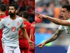 Atleti stars Diego Costa and Jose Gimenez shone on Friday. AFP