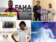 Varios jugadores de Arabia Saudí jugarán en LaLiga durante esta segunda vuelta. AFP