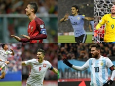 Cristiano, Cavani, Berg, Messi, Lewadnowski and Lozano have been banging in the goals. BeSoccer