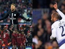 PSG, Tottenham y Liverpool sellaron su pase a octavos. AFP/EFE