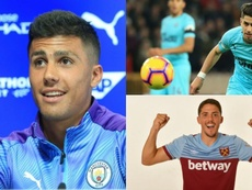 Three Spanish players make up a quarter of the Premier League's spending. AFP/WestHam