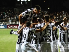 Montevideo Wanderers dejó a Sport Huancayo en el camino. Twitter/mwfc_oficial