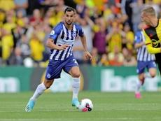 Ryan, portero del Brighton, fue uno de los más destacados del partido. Twitter/OfficialBHAFC