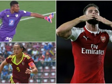 Giroud, Castellanos and Masuluke will all go head-to-head for the prize. BeSoccer