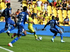Coulibaly hace soñar al Nantes. Twitter/FCNantes