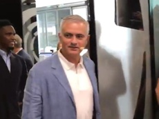 Eto'o would like Mourinho to coach Barcelona. Twitter/Radioestadio