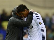 Mourinho quiere llevarse a los madridistas a Mánchester. AFP