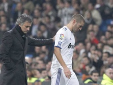 Benzema responde al guiño de Mourinho en Instagram. EFE