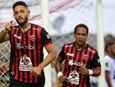 Pérez Zeledón frena a Alajuelense; Limón sorprende a Santos Guápiles. LDA