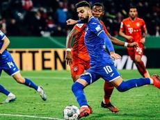 El Sevilla se solidarizó con Dabbur. Twitter/tsghoffenheim
